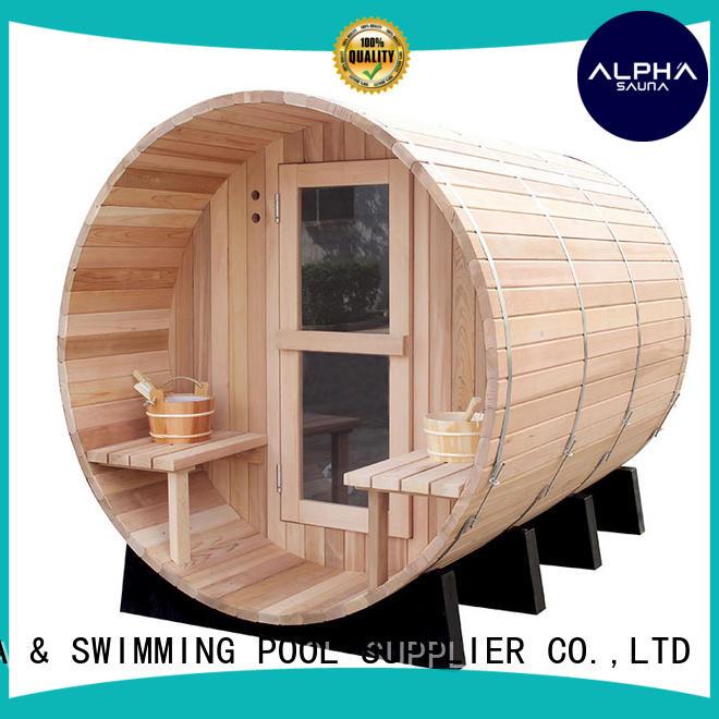 ALPHA High-quality outdoor sauna manufacturers