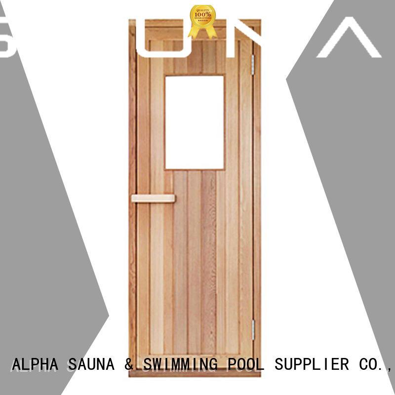 ALPHA finnish sauna doors for sale wholesale for villa