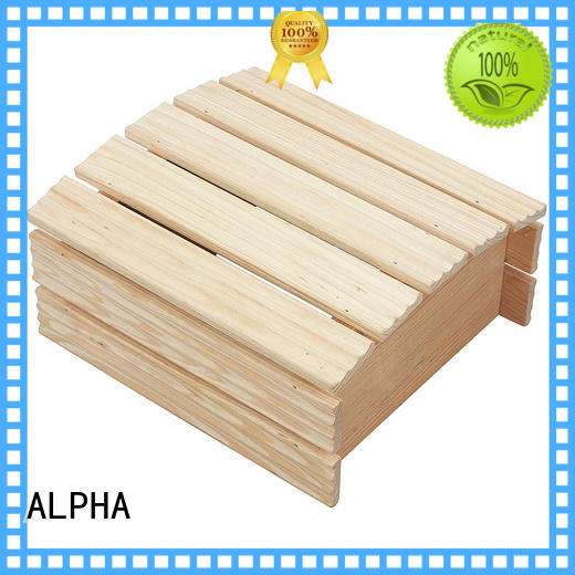 ALPHA Wholesale sauna products for business