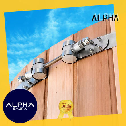 ALPHA sauna large hose clamps inquire now for villa