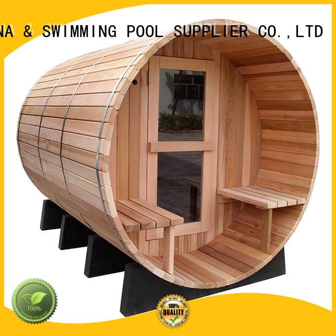 Wholesale outdoor sauna Supply