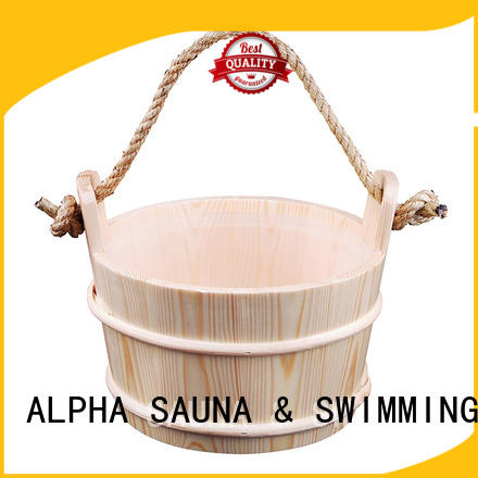 ALPHA painting sauna bucket for sale including for outdoor