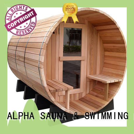 electrical outdoor sauna room wholesalefor hotel