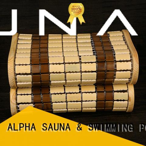 ALPHA professional sauna pillow customized for bathroom