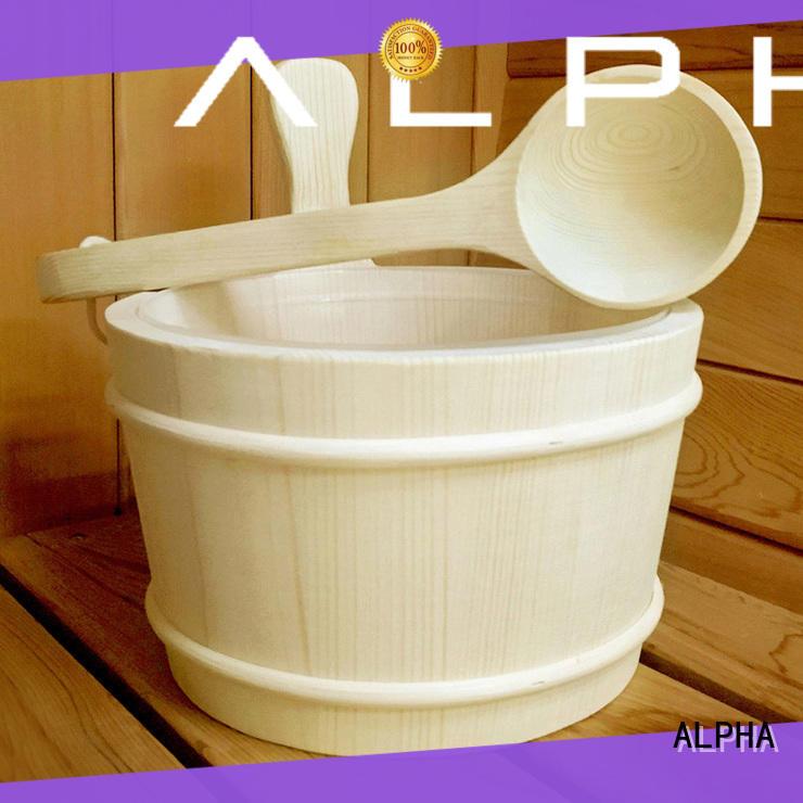 wooden sauna accessories online including manufacturer for villa