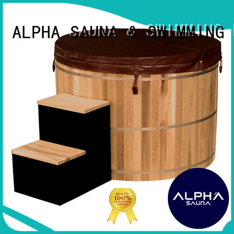 ALPHA professional small hot tubs supplier for bathroom