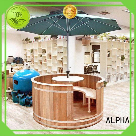 Canadian red cedar sauna wetdry factory for hotel
