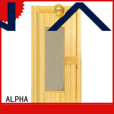 stainless steel steam room glass doors cedar wholesale for villa