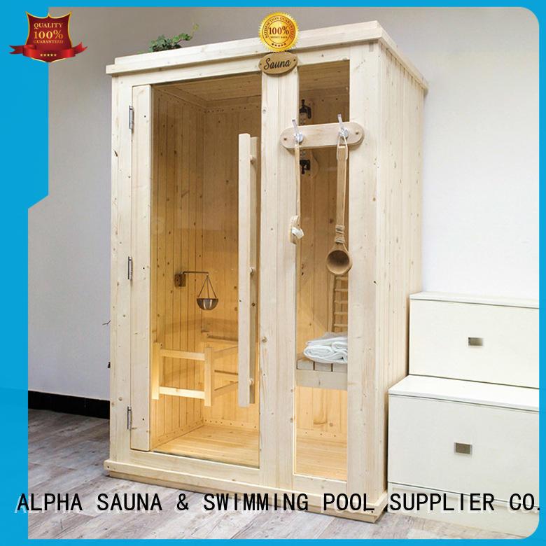 ALPHA Custom home steam sauna company