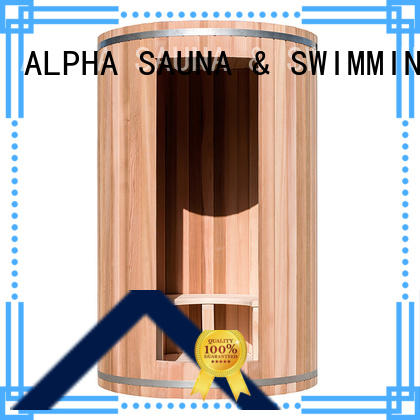 home steam sauna wall for outdoor ALPHA
