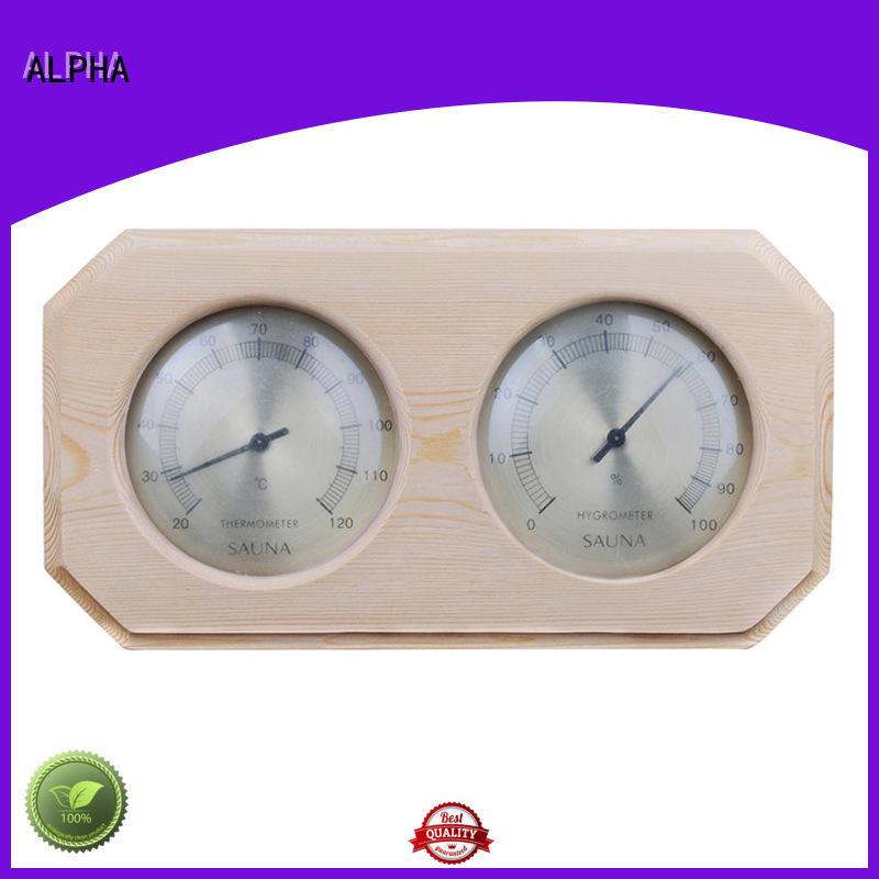 angledhygrometer saunatemperature customized for bathroom