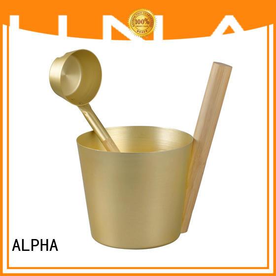 ALPHA sauna accessories manufacturers