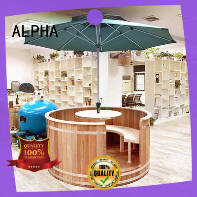 cedar outdoor sauna series for bathroom ALPHA