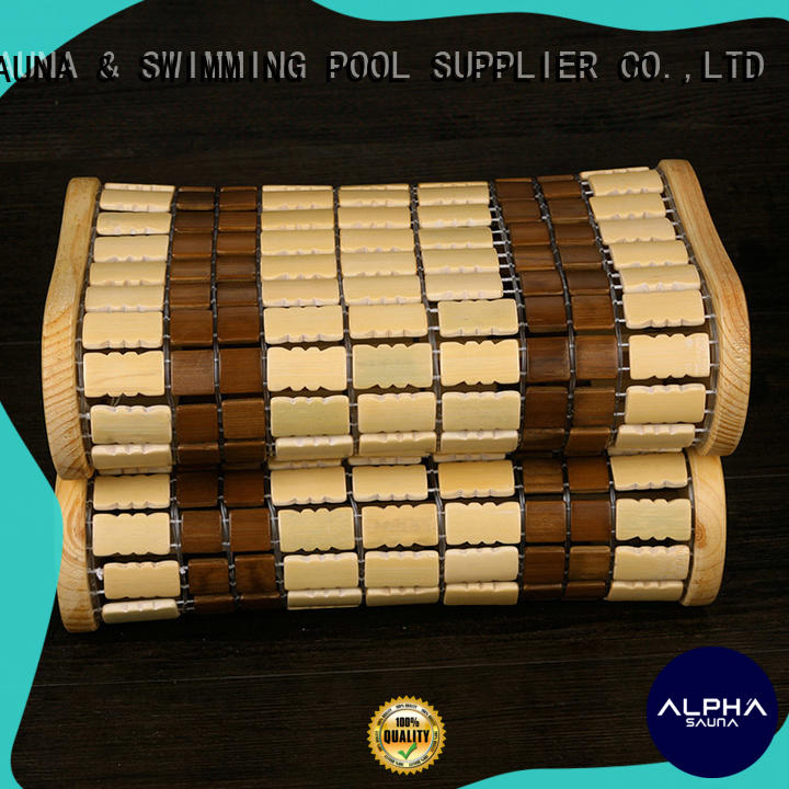 ALPHA frame sauna pillow directly sale for household