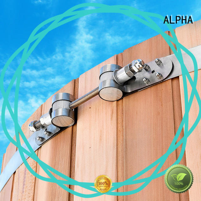 ALPHA aroma metal clamps with good price for indoor