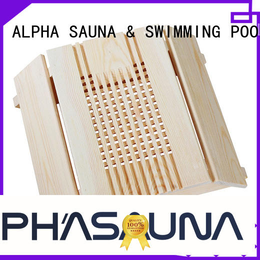 sauna room accessories lamp ALPHA Brand wooden lampshade