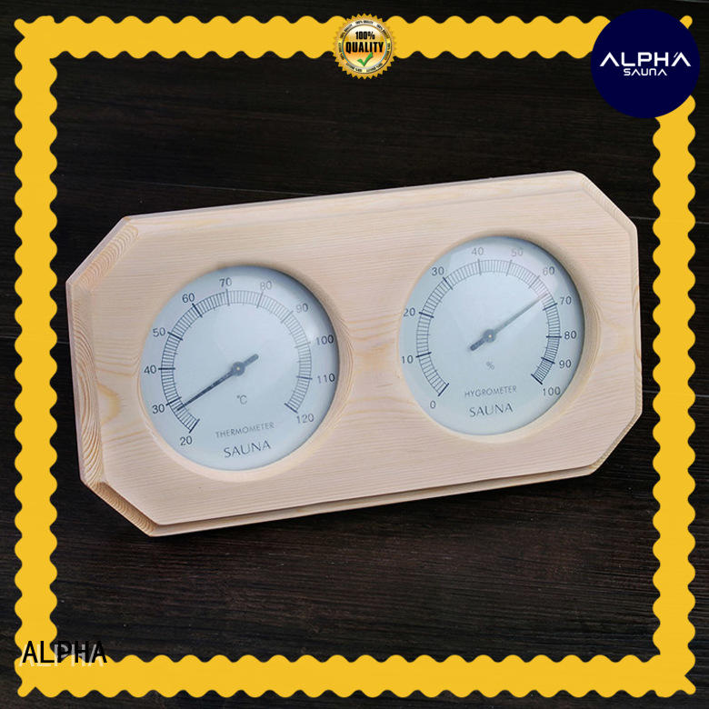 ALPHA hygrometer sauna hygrometer from China for household