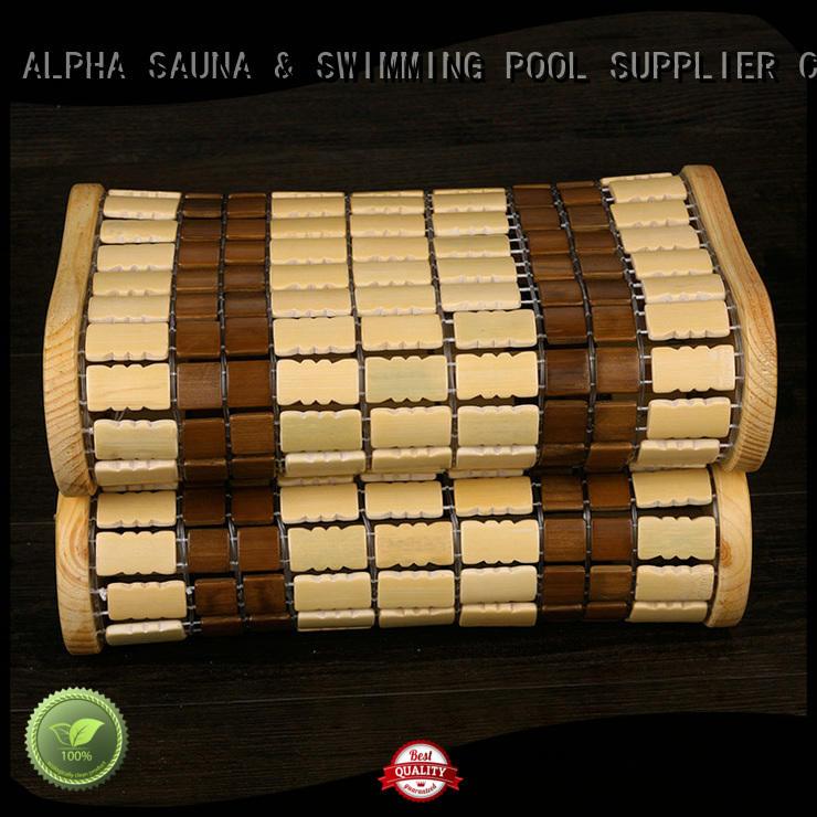 ALPHA durable sauna accessories design for indoor