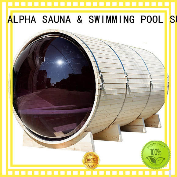 porch outdoor sauna ALPHA