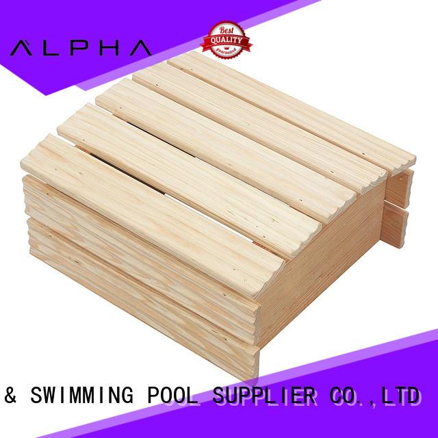 sauna room accessories pine ALPHA Brand wooden lampshade
