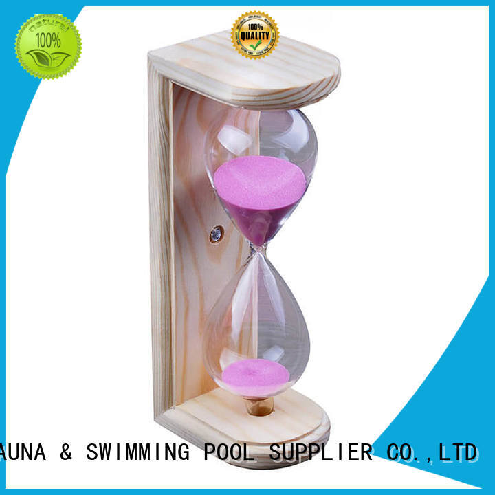 cedar sand timer in sauna wholesale for bathroom ALPHA
