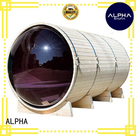 ALPHA barrel outside sauna directly sale for bathroom