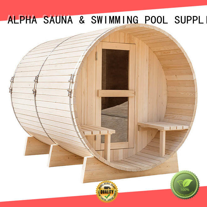 ALPHA electrical outside sauna sauna for indoor