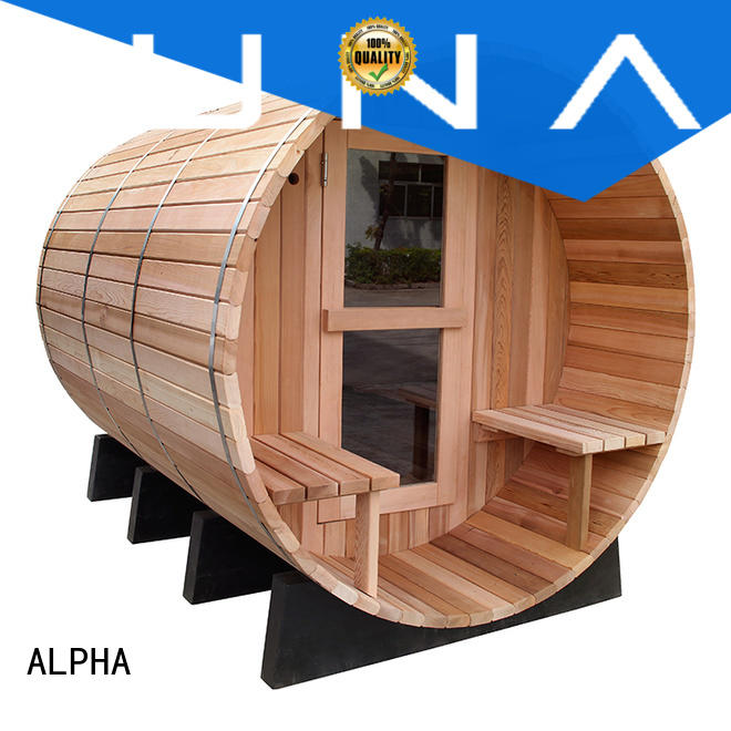 ALPHA red outdoor sauna series for household