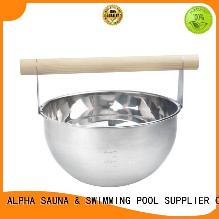 ALPHA insert finnish sauna accessories with good price for villa