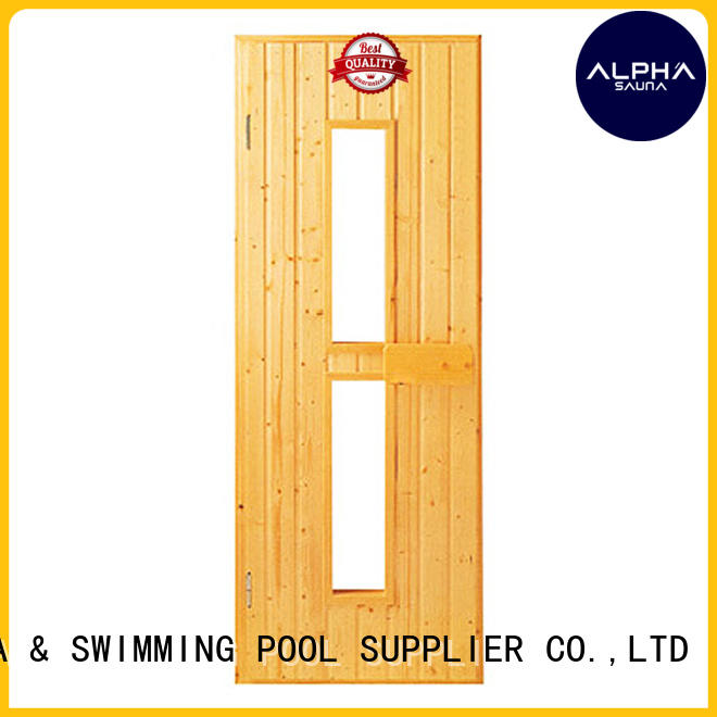 finnish sauna sauna wood door ALPHA Brand