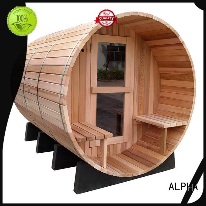 ALPHA sauna kits company