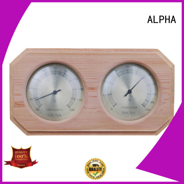 ALPHA oblique sauna thermometer from China for household