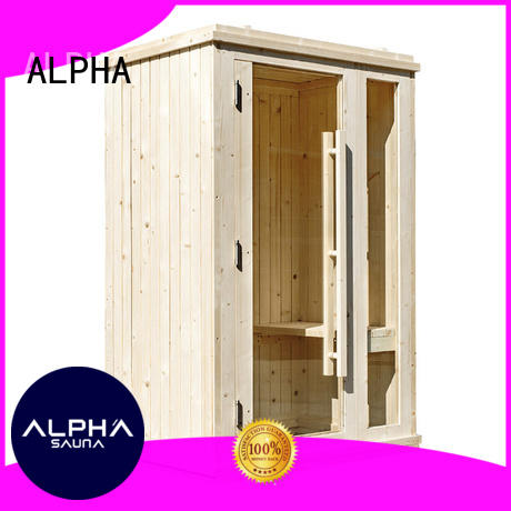 ALPHA panel clearlight sauna directly sale for indoor