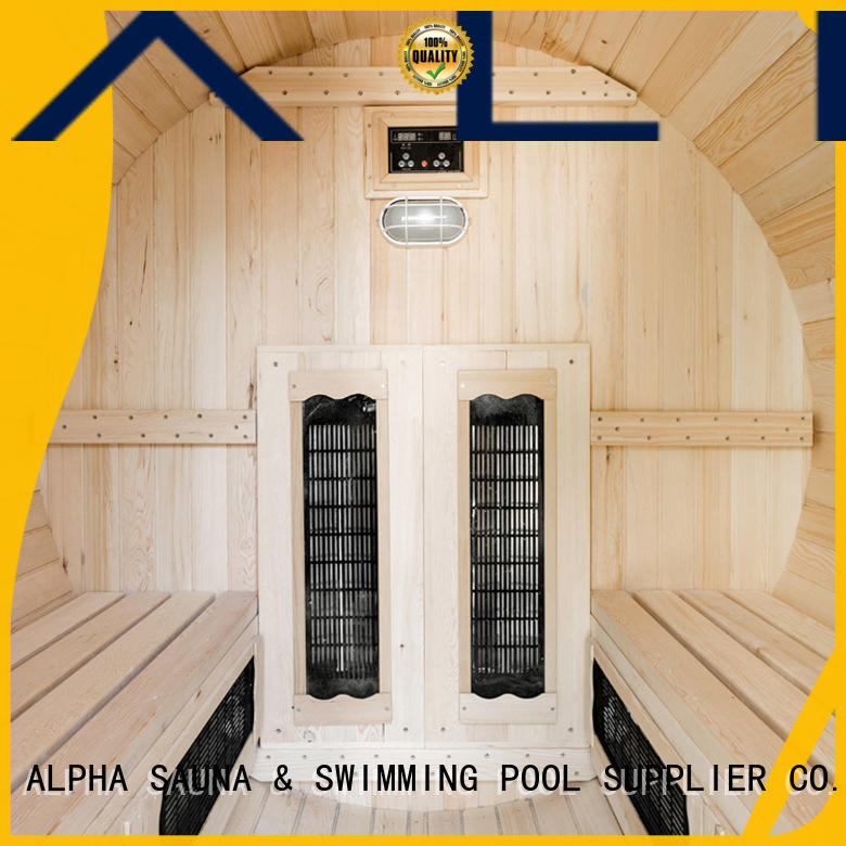 ALPHA infrared outdoor sauna bausatz 46 for cabin