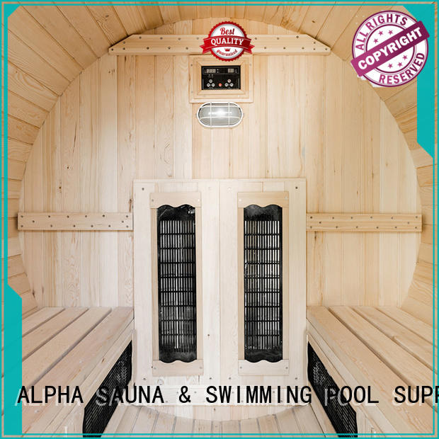 ALPHA person barrelsauna inquire now for cabin