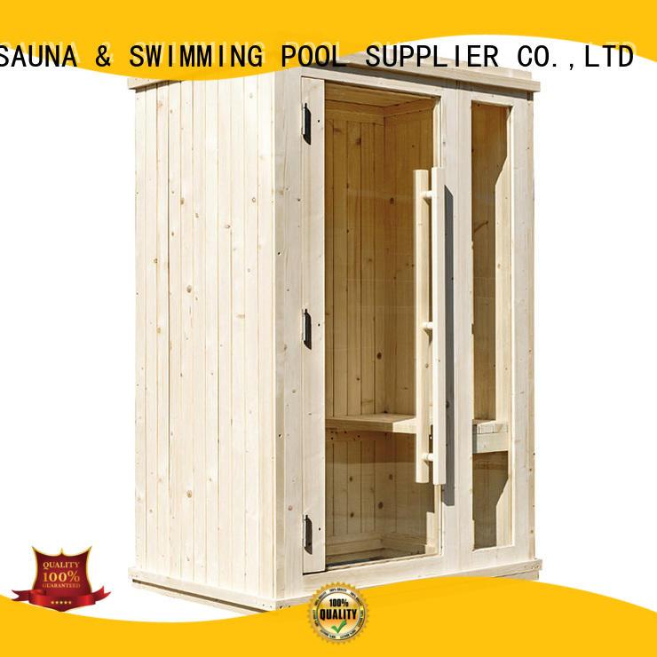ALPHA New 2 person sauna factory