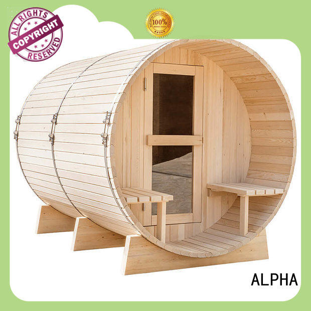 ALPHA electrical sauna room factory price for outdoor