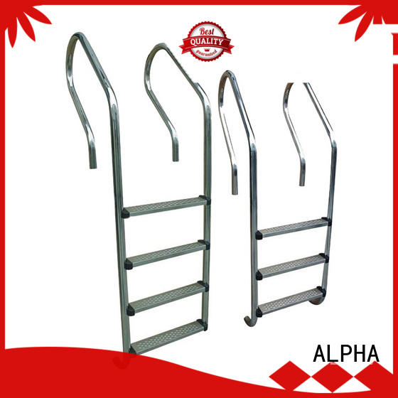 ALPHA Latest pool stairs factory