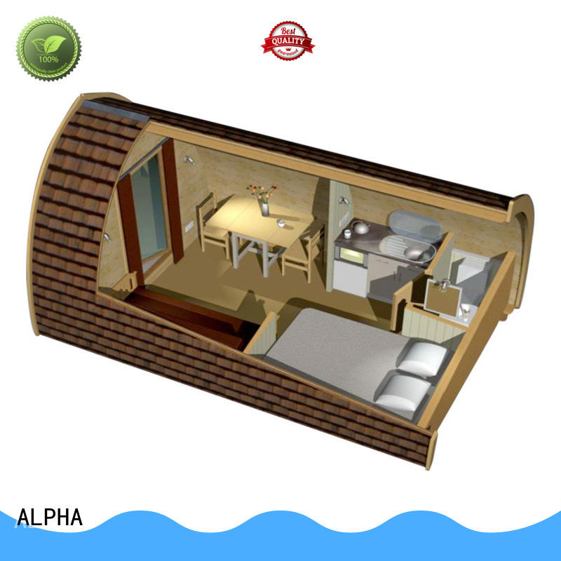 ALPHA durable camping houses for sale 4800 for garden