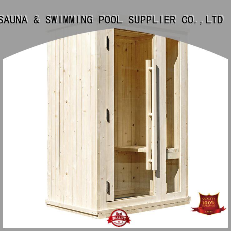 ALPHA solid mini sauna design for outdoor