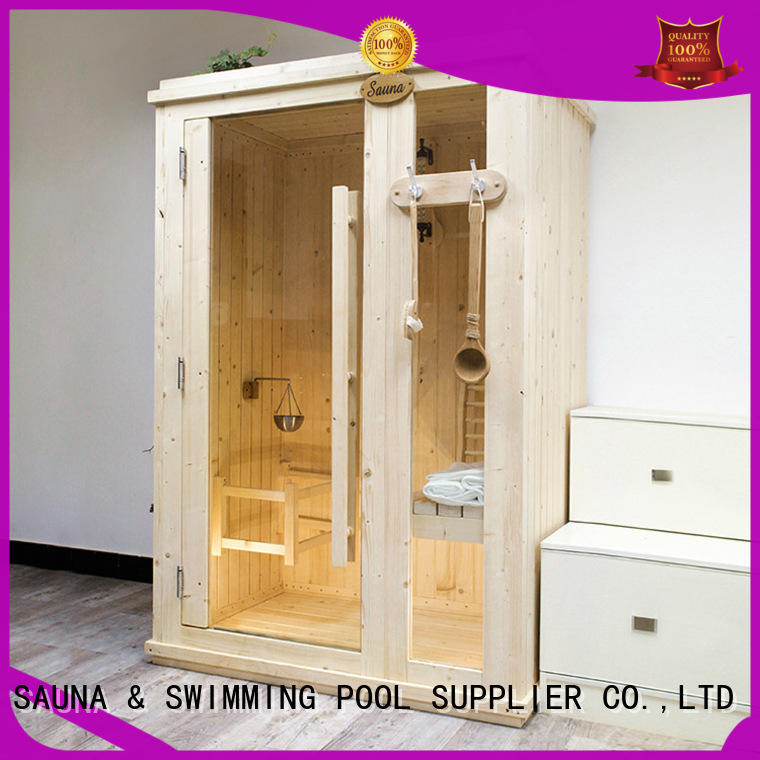 thick indoor steam sauna kits room supplierfor bathroom