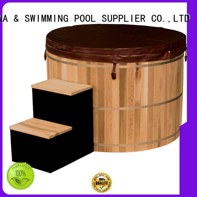 ALPHA electrical wooden hot tub from China for household