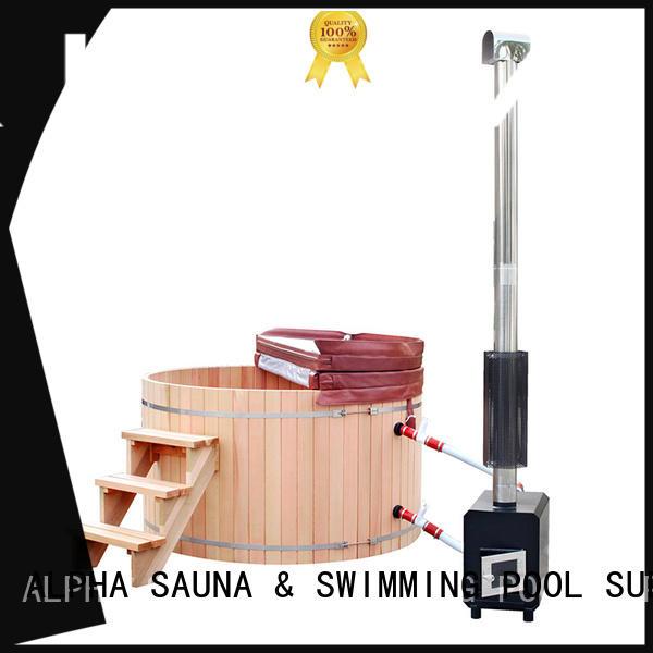 round wooden tub wooden ALPHA