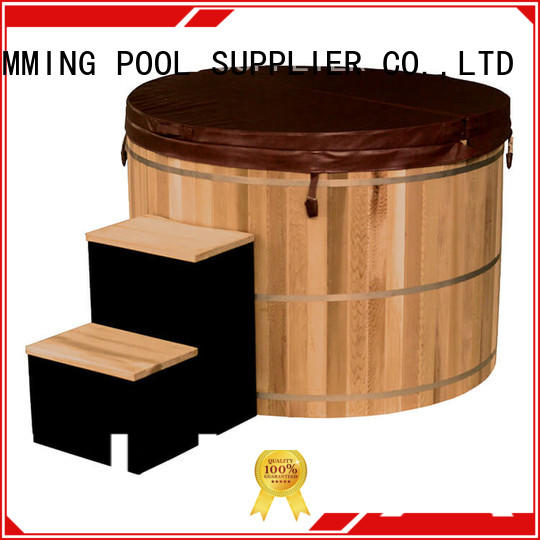 ALPHA Latest wooden hot tub manufacturers